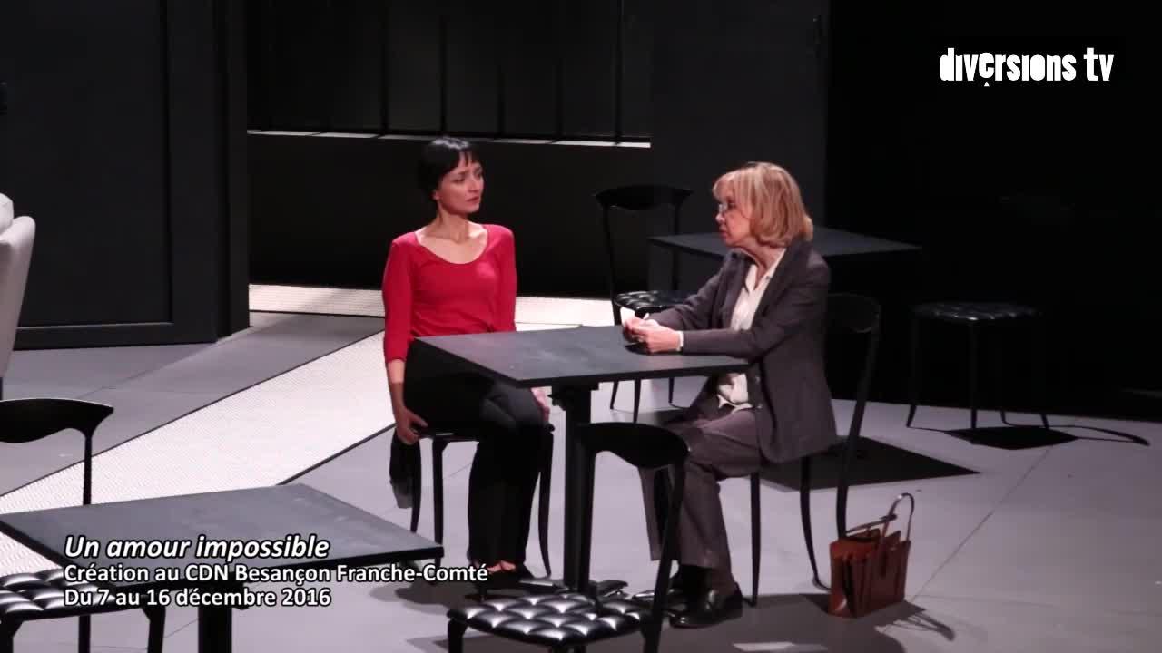 """Vidéo """"Un amour impossible"""" présenté par Célie Pauthe"""