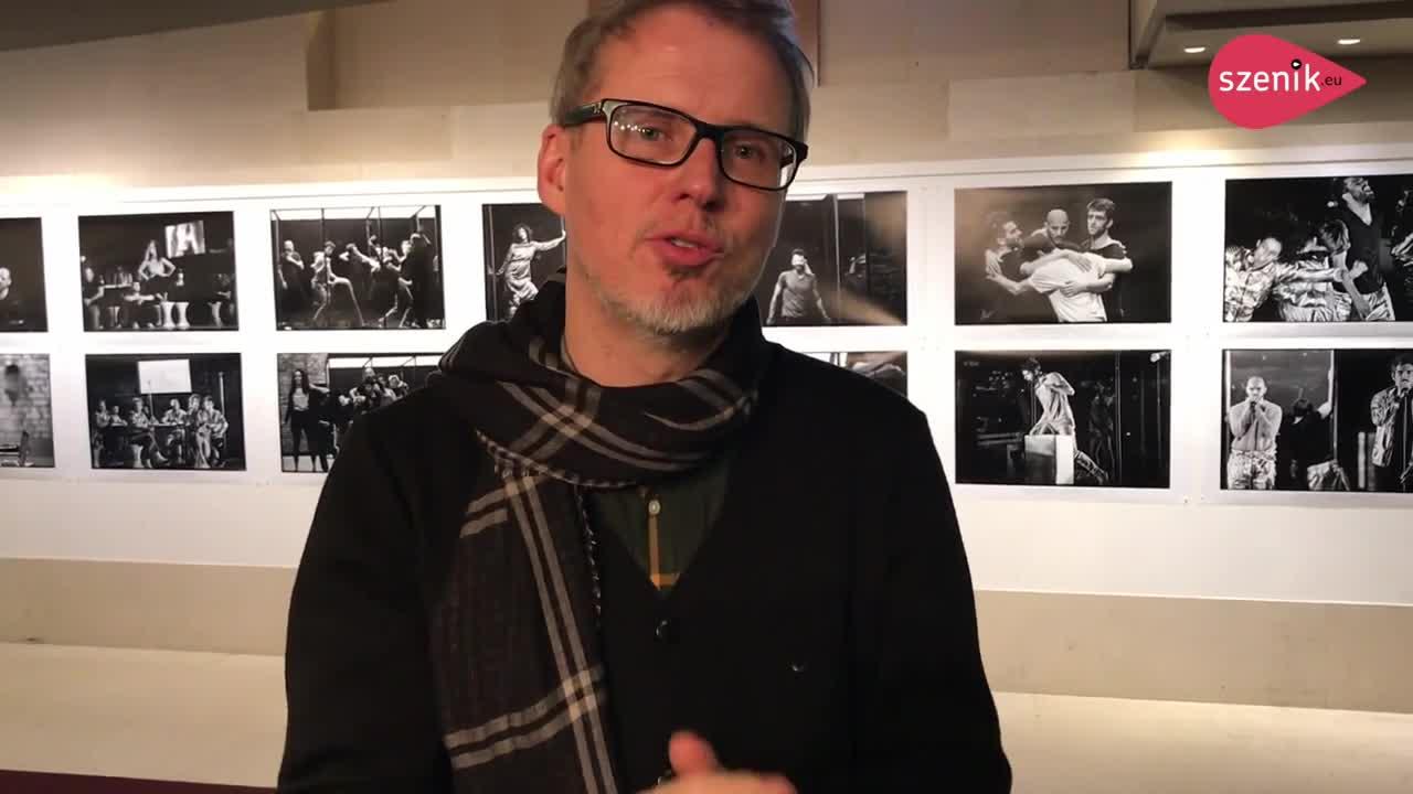 """Vidéo """"I am Europe"""", entretien avec Falk Richter"""