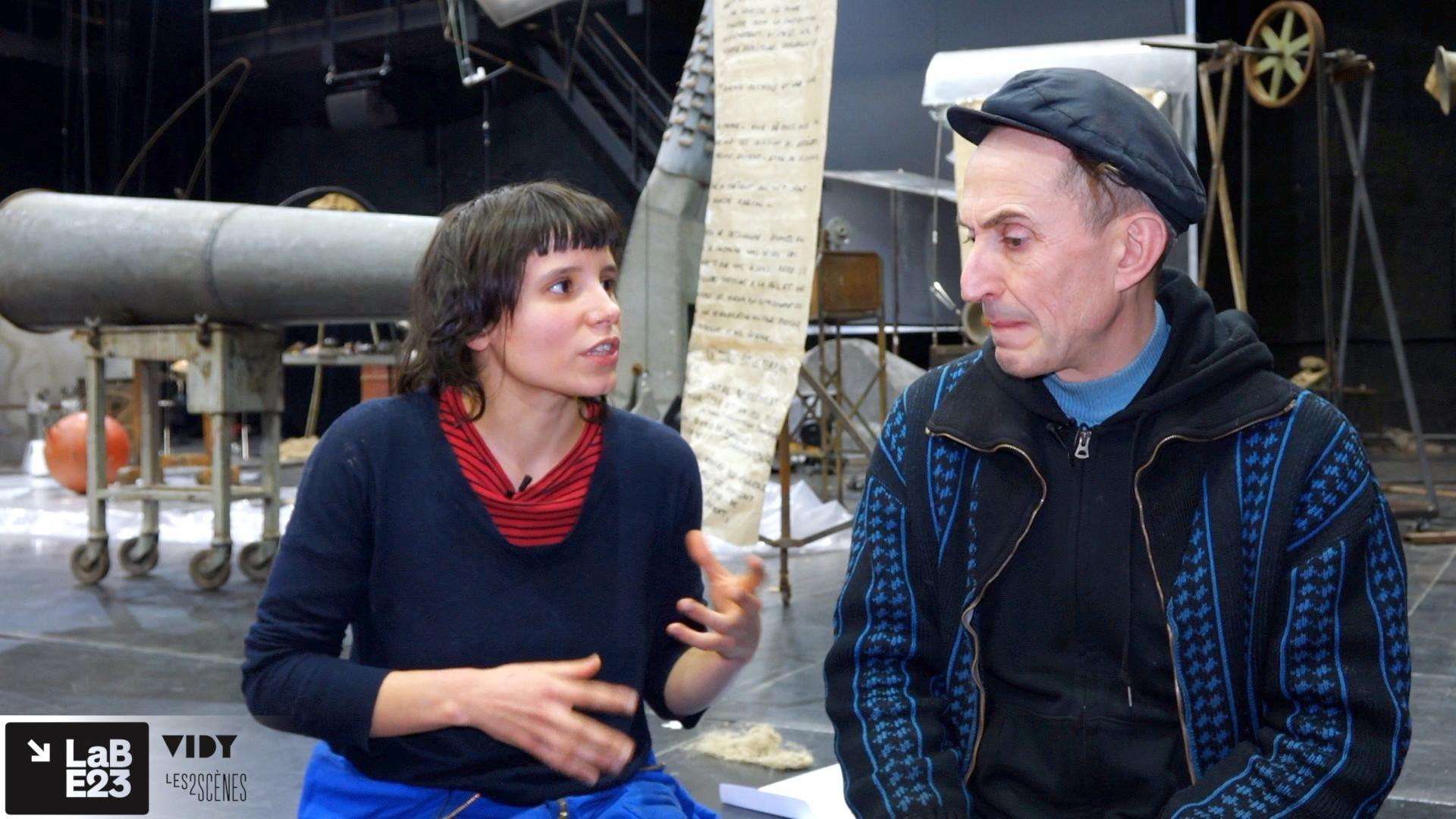"""Vidéo """"Volia Panic"""", entretien avec Alexis Forestier et Itto Mehdaoui - présentation"""