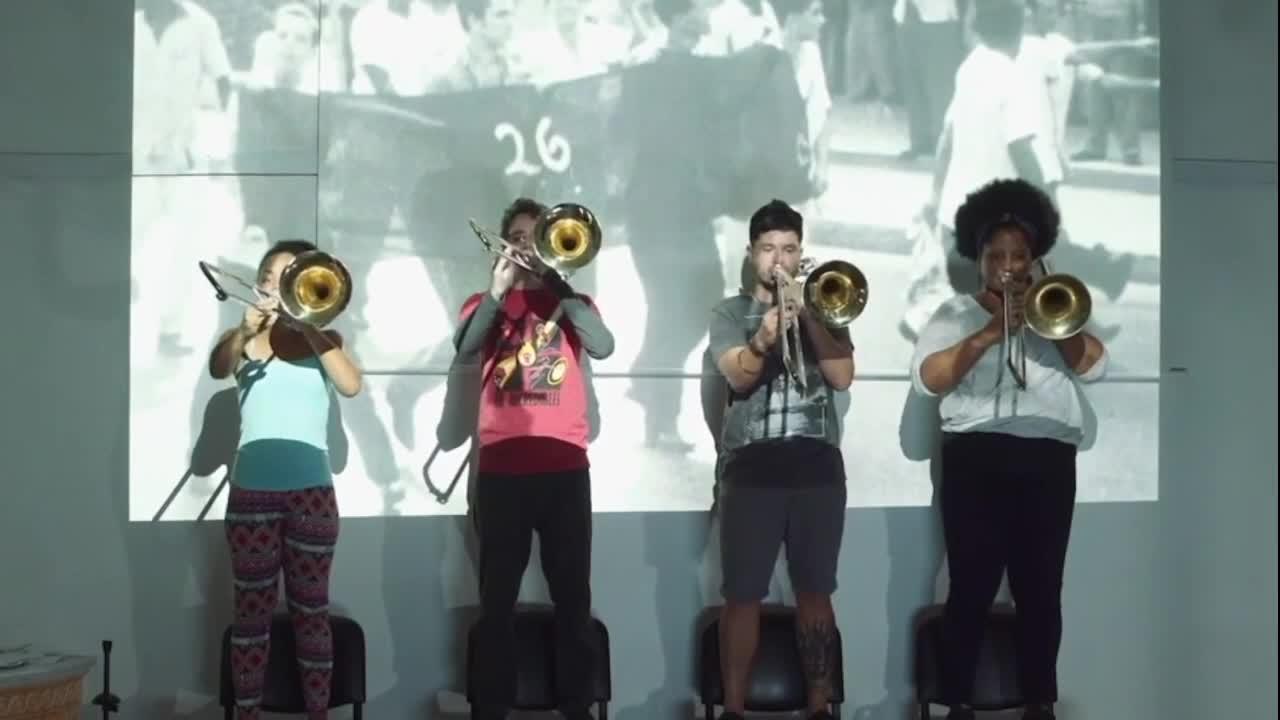 "Vidéo ""Granma. Les trombones de La Havane"", Stefan Kaegi, présentation"