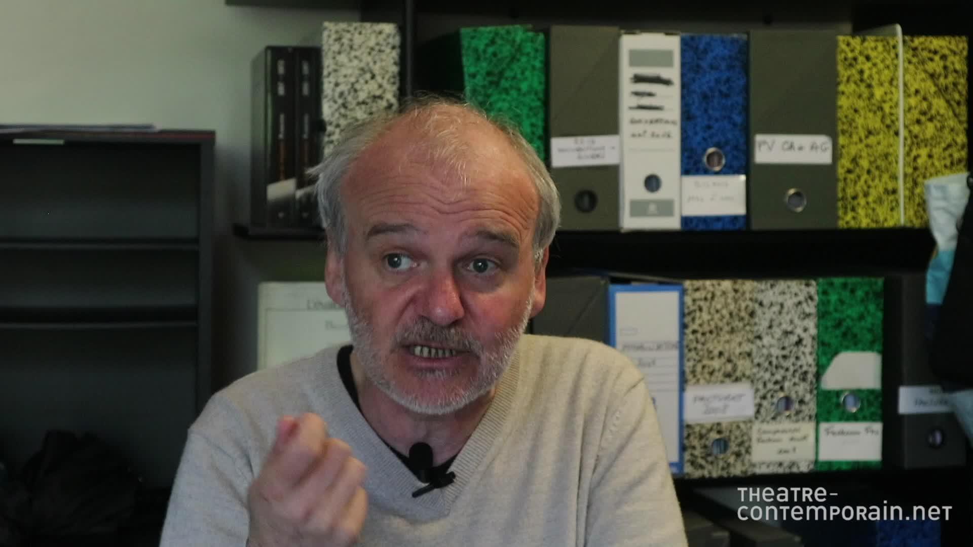 """Image de la vidéo pour 'A propos de """"Les Discours de Rosemarie""""'"""