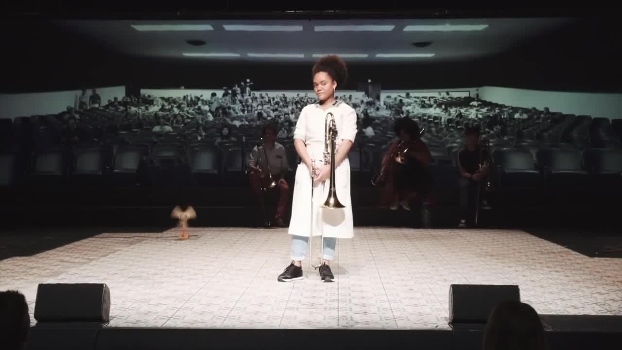 """Vidéo """"Granma. Les Trombones de la Havane"""" de Rimini Protokoll - Extraits"""