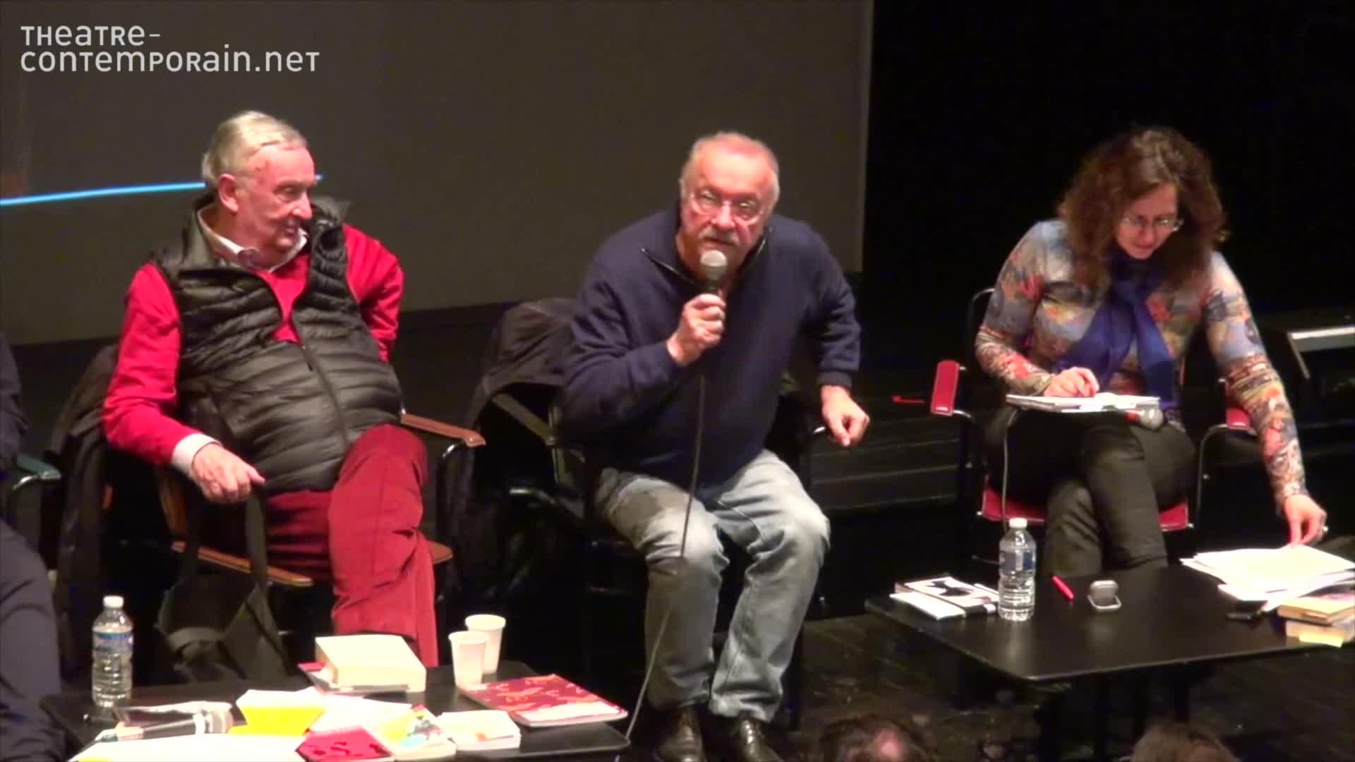 """Vidéo """"Le mariage de Figaro"""" distribution et scénographie par Jean-Pierre Vincent"""