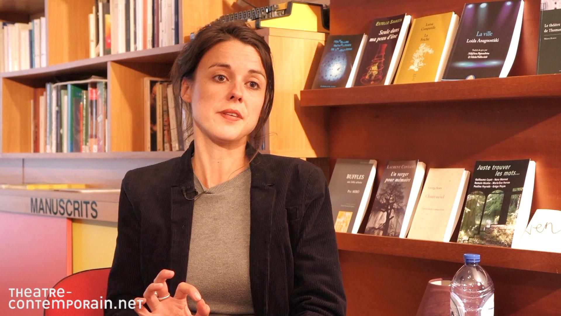 """Image de la vidéo pour 'A propos de """"Cinglée"""" de Céline Delbecq'"""