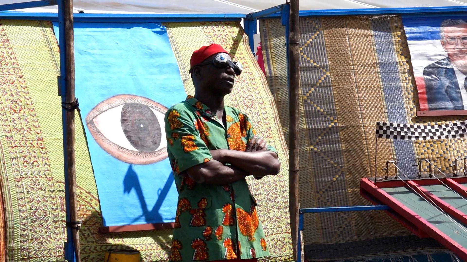 "Vidéo ""Musée Bombana de Kokologo"" d'Athanase Kabré, extraits"