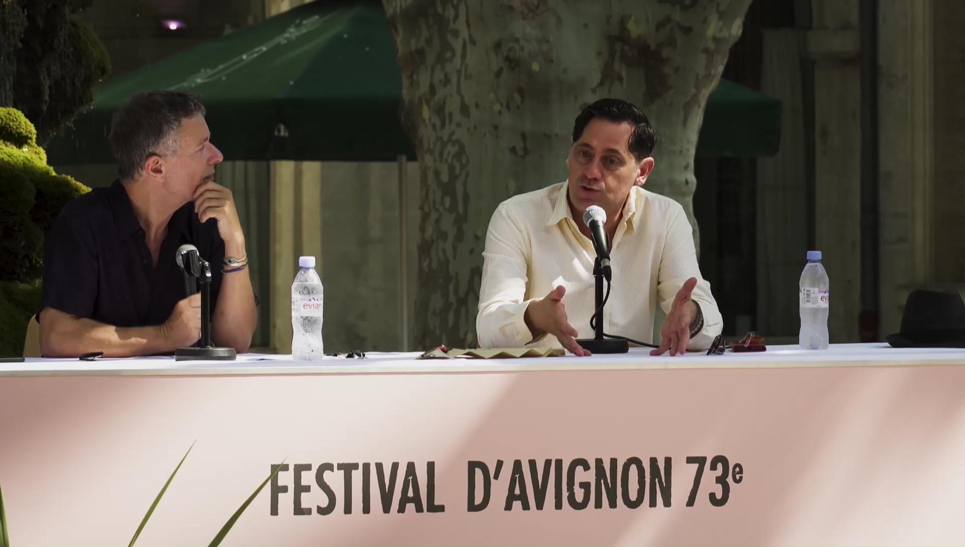 """Vidéo Olivier Py pour """"L'Amour vainqueur"""""""