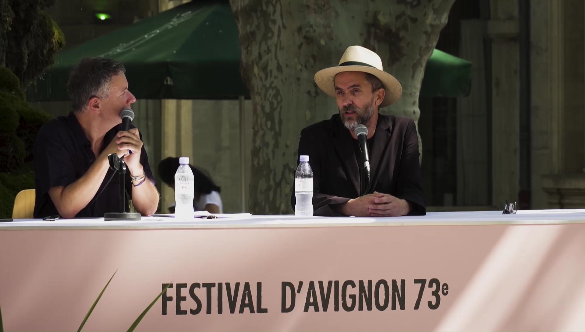 "Vidéo Pascal Rambert pour ""Architecture"""