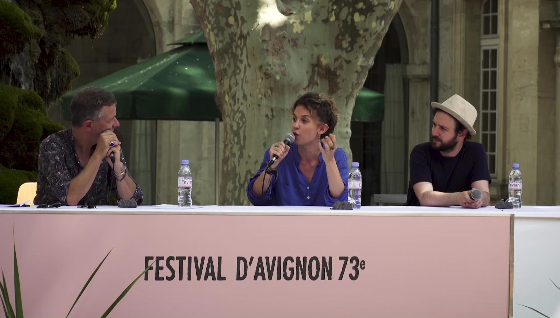 """Vidéo Maëlle Poésy et Kevin Keiss pour """"Sous d'autres cieux"""""""