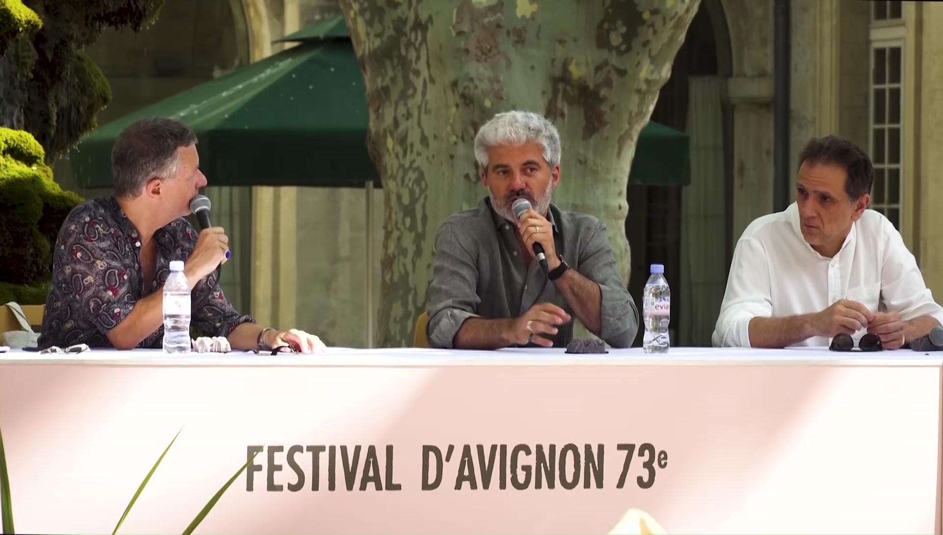 """Vidéo Roland Auzet et Laurent Gaudé pour """"Nous, l'Europe, Banquet des peuples"""""""