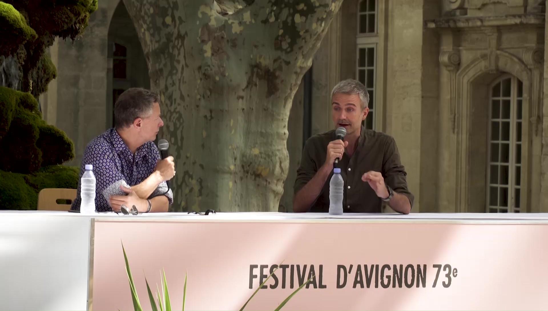 """Vidéo François Gremaud pour """"Phèdre !"""""""