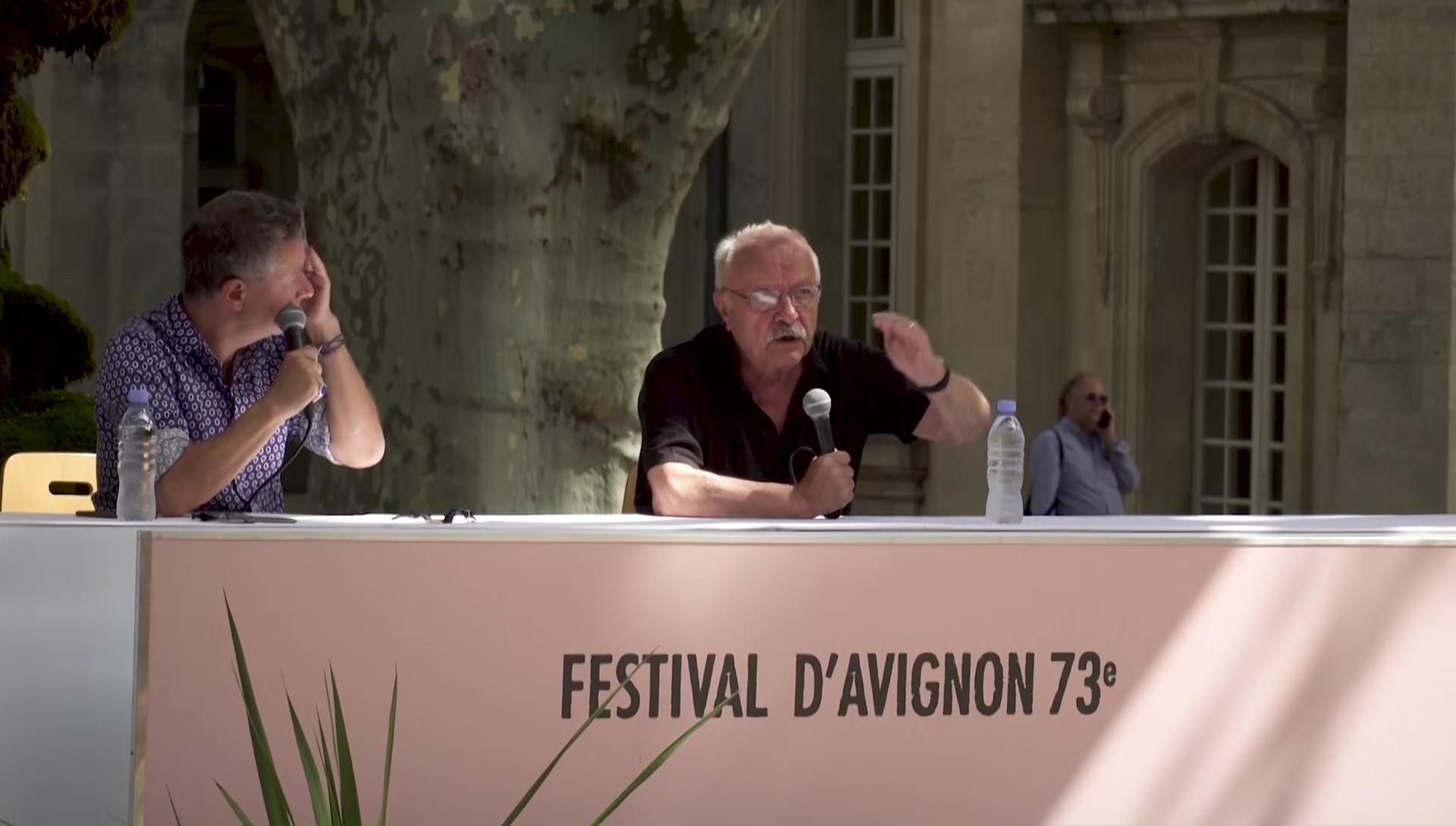 """Vidéo Jean-Pierre Vincent pour """"L'Orestie"""""""