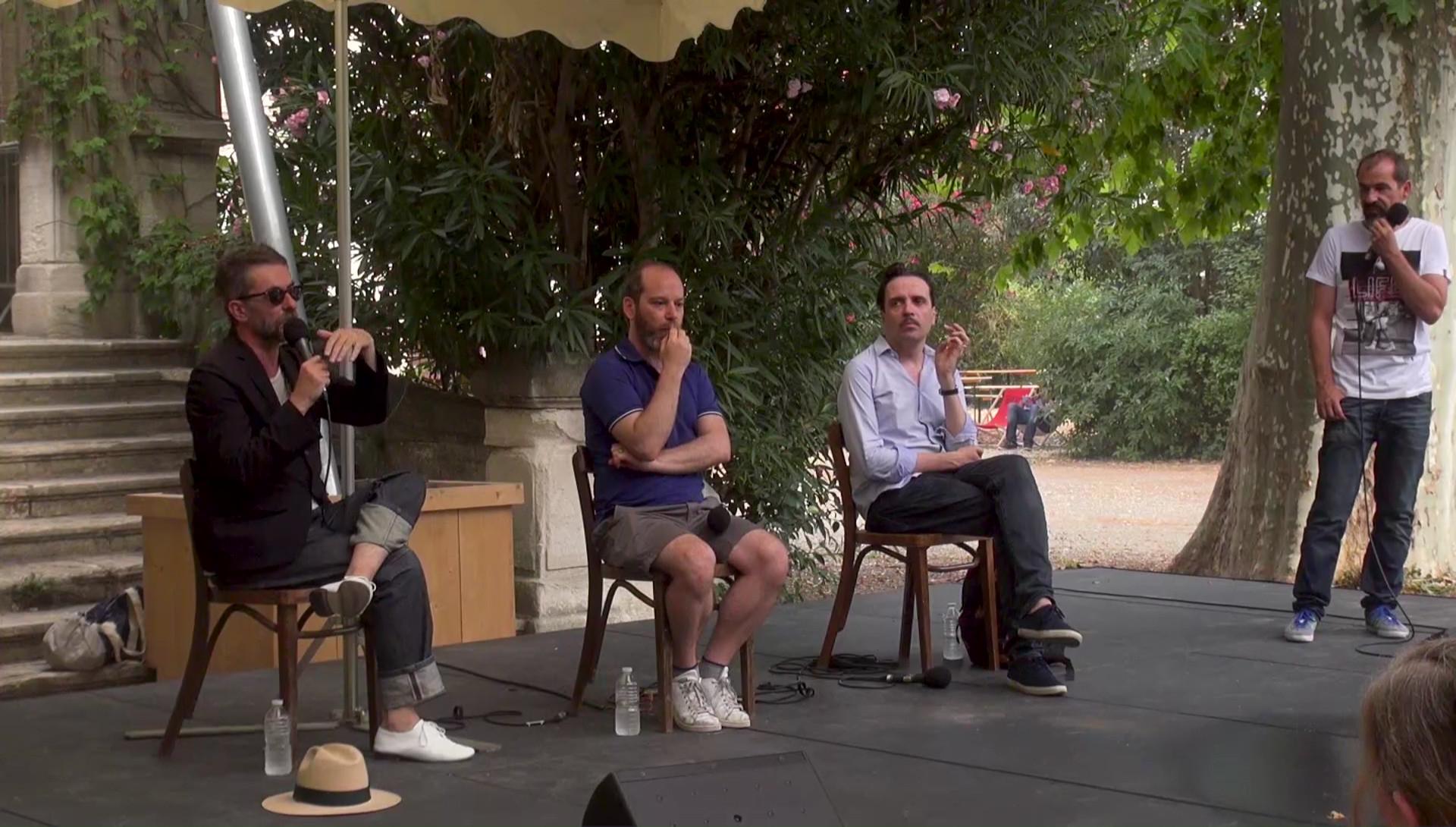 """Vidéo """"Architecture"""", dialogue artistes-spectateurs"""