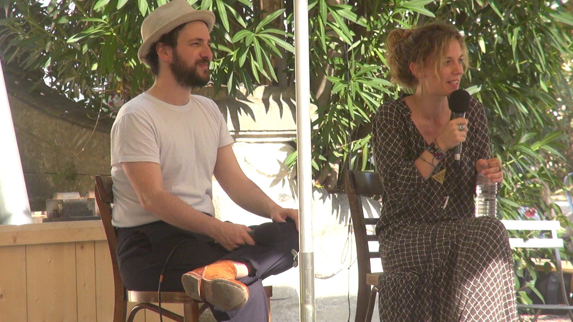 """Vidéo """"Sous d'autres cieux"""", dialogue artistes-spectateurs"""