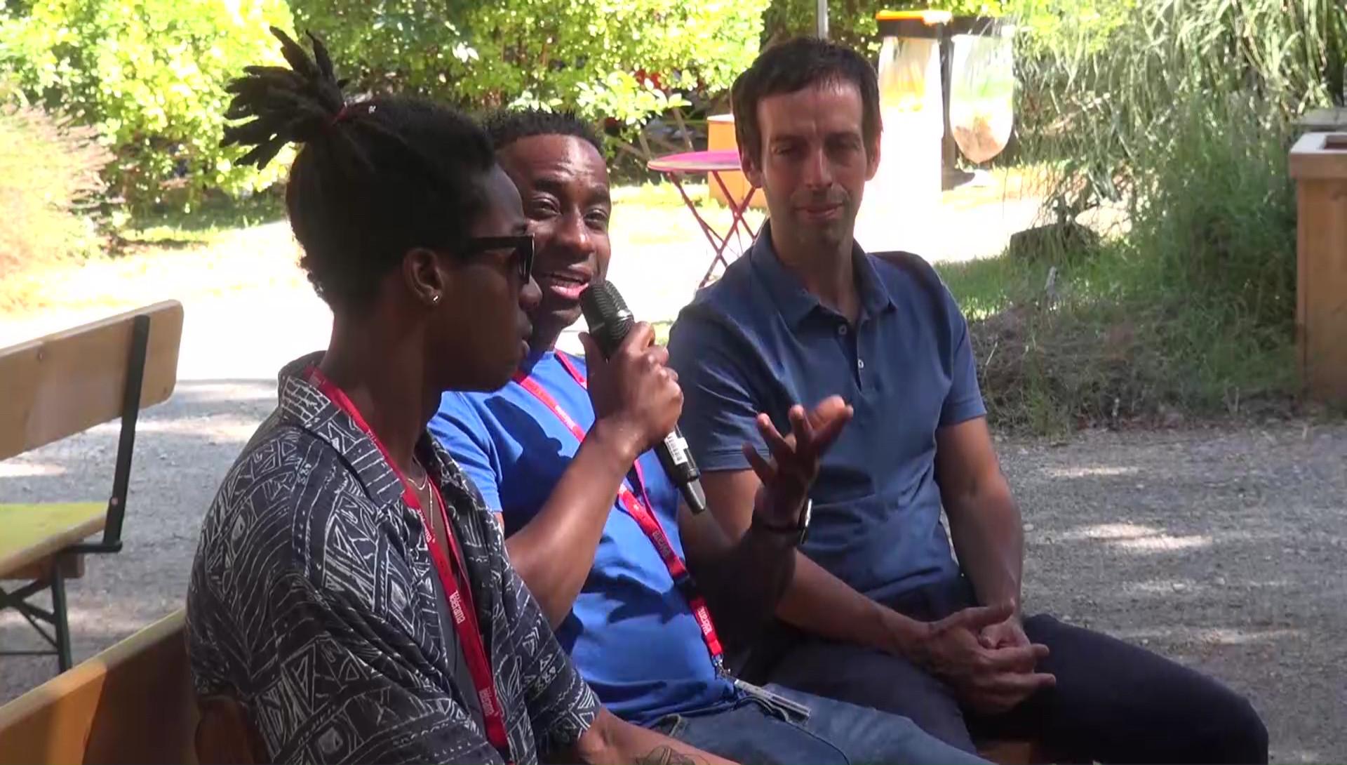 """Vidéo """"Le Jeune Yacou"""", dialogue artistes-spectateurs"""