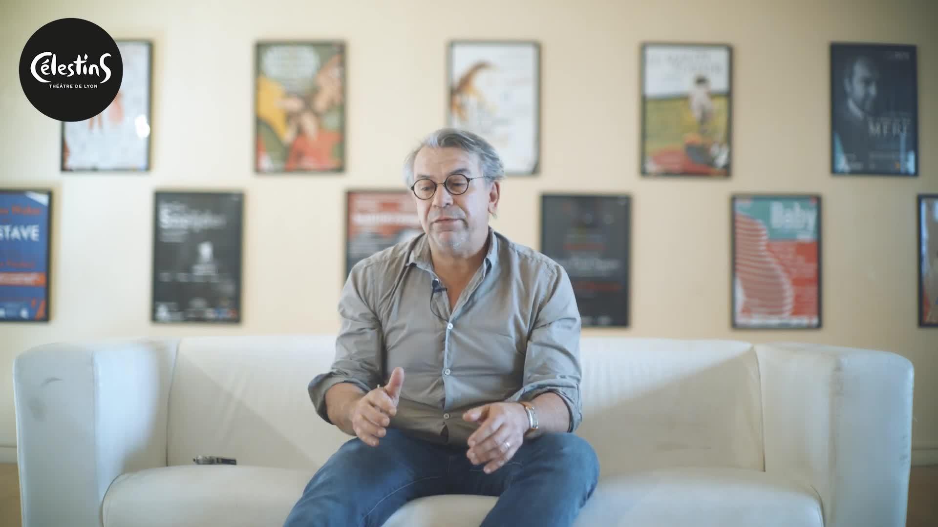 """Vidéo """"La Vie de Galilée"""" - Entretien avec Philippe Torreton"""
