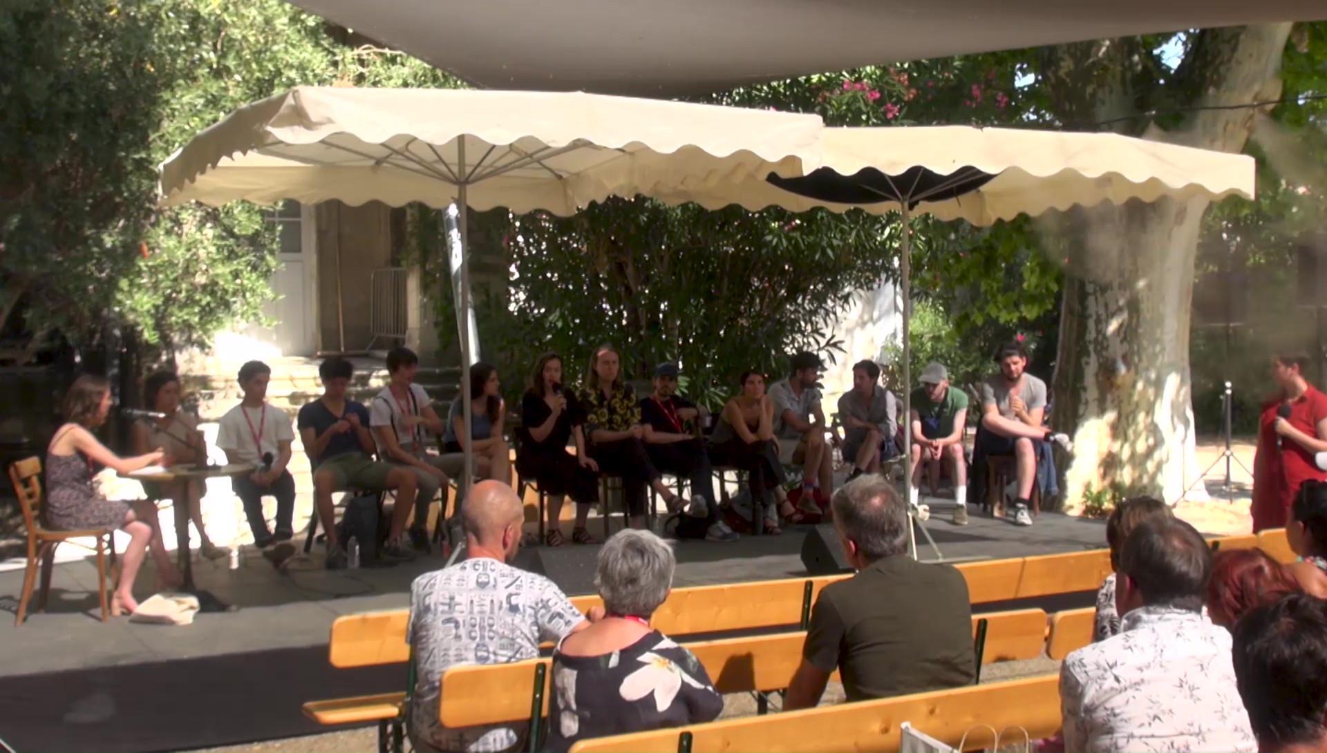 """Vidéo """"La Brèche"""", dialogue artistes-spectateurs"""