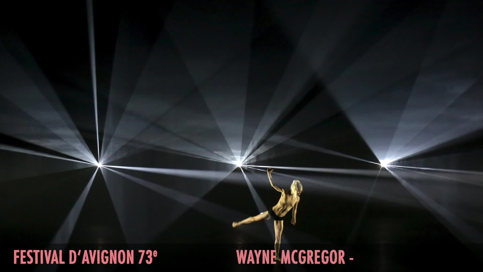 "Vidéo Wayne McGregor extrait de ""Autobiography"""