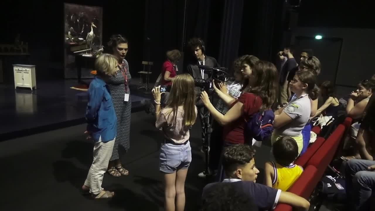 Vidéo Jeunes reporters culture - De l'autre côté du miroir