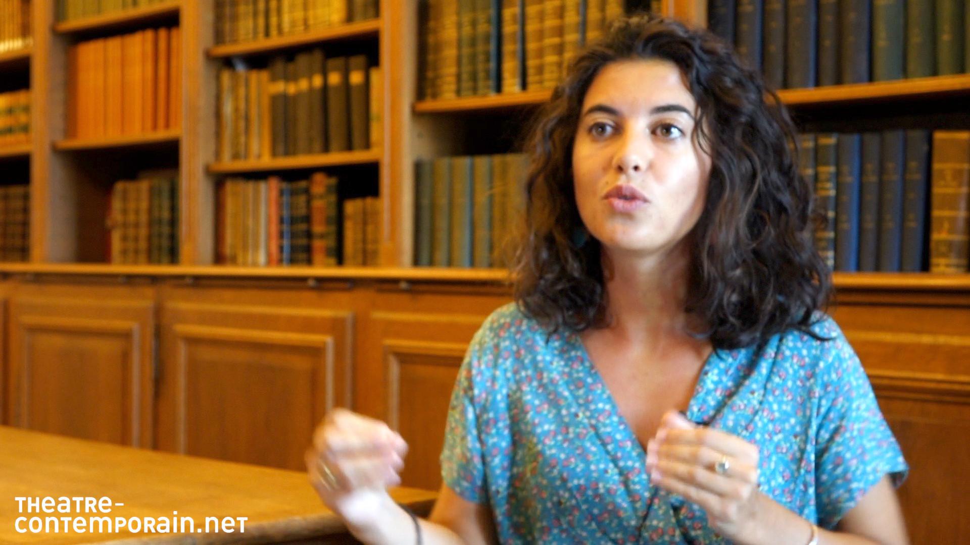 Faustine Noguès / La découverte du théâtre