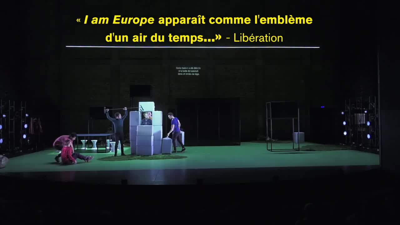"Vidéo ""I am Europe"", Falk Richeter - Teaser"