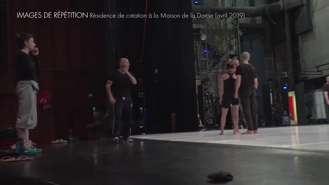 """Vidéo """"Möbius"""" de Rachid Ouramdane, extraits des répétitions"""