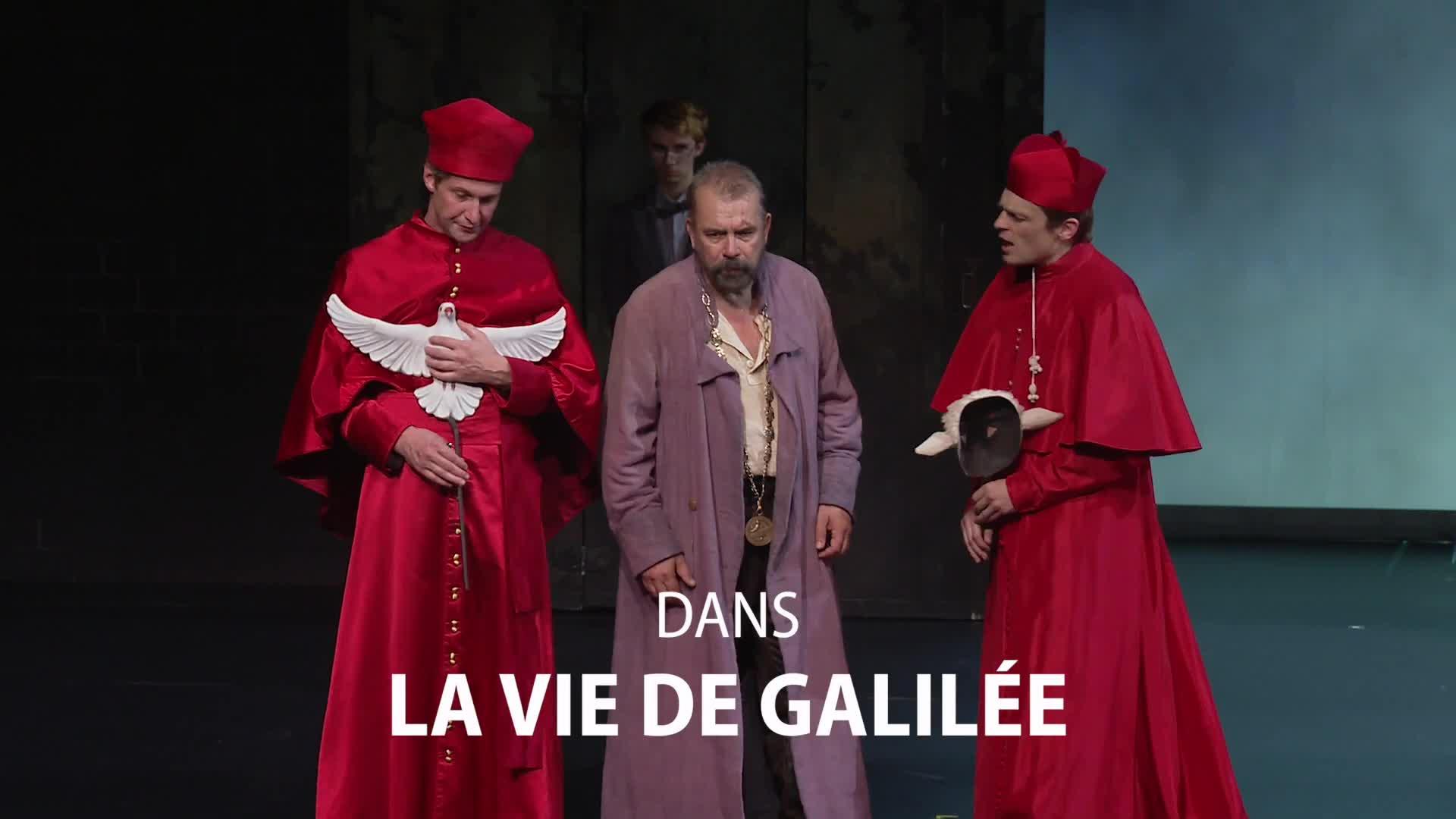 """Vidéo """"La Vie de Galilée"""" - Bertolt Brecht / Claudia Stavisky - Teaser"""