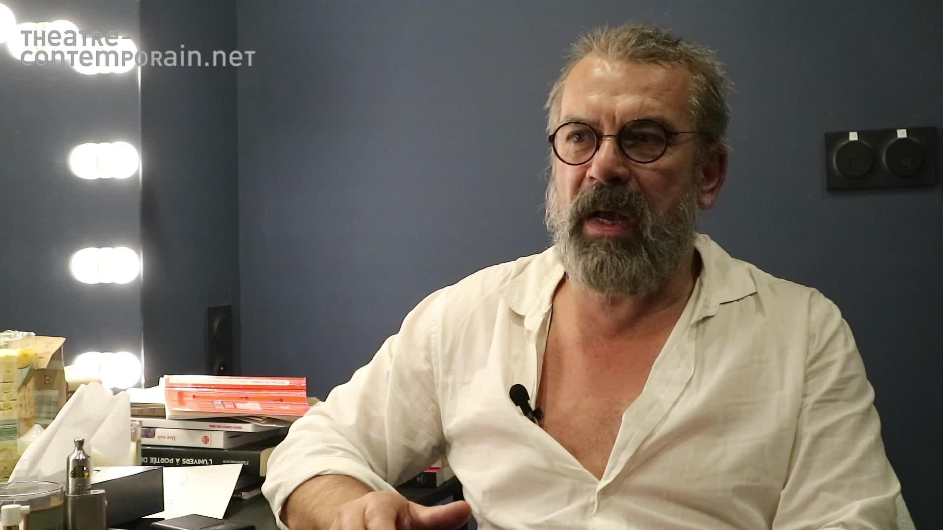 Vidéo Les signes de viellissement de Galilée par Philippe Torreton