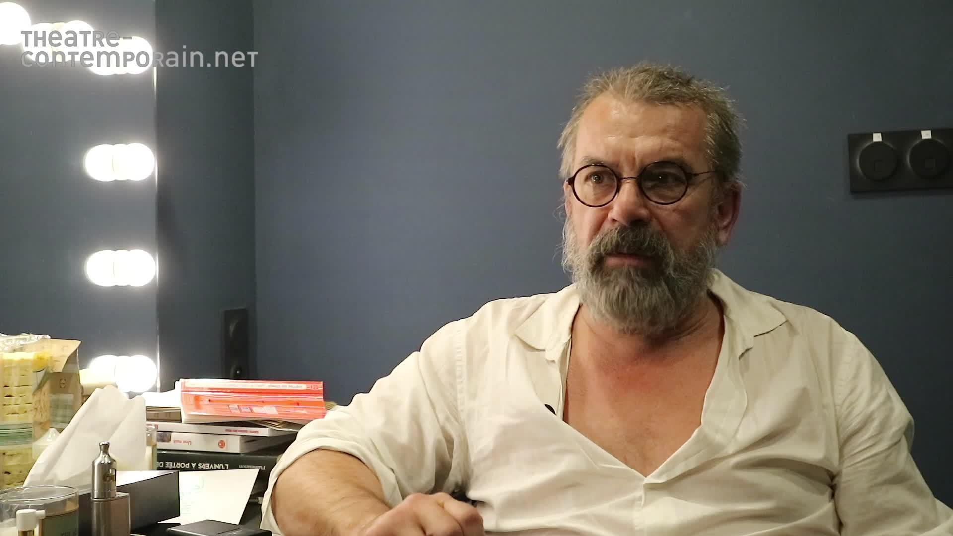 Vidéo Les échos d'autres personnages à Galilée par Philippe Torreton