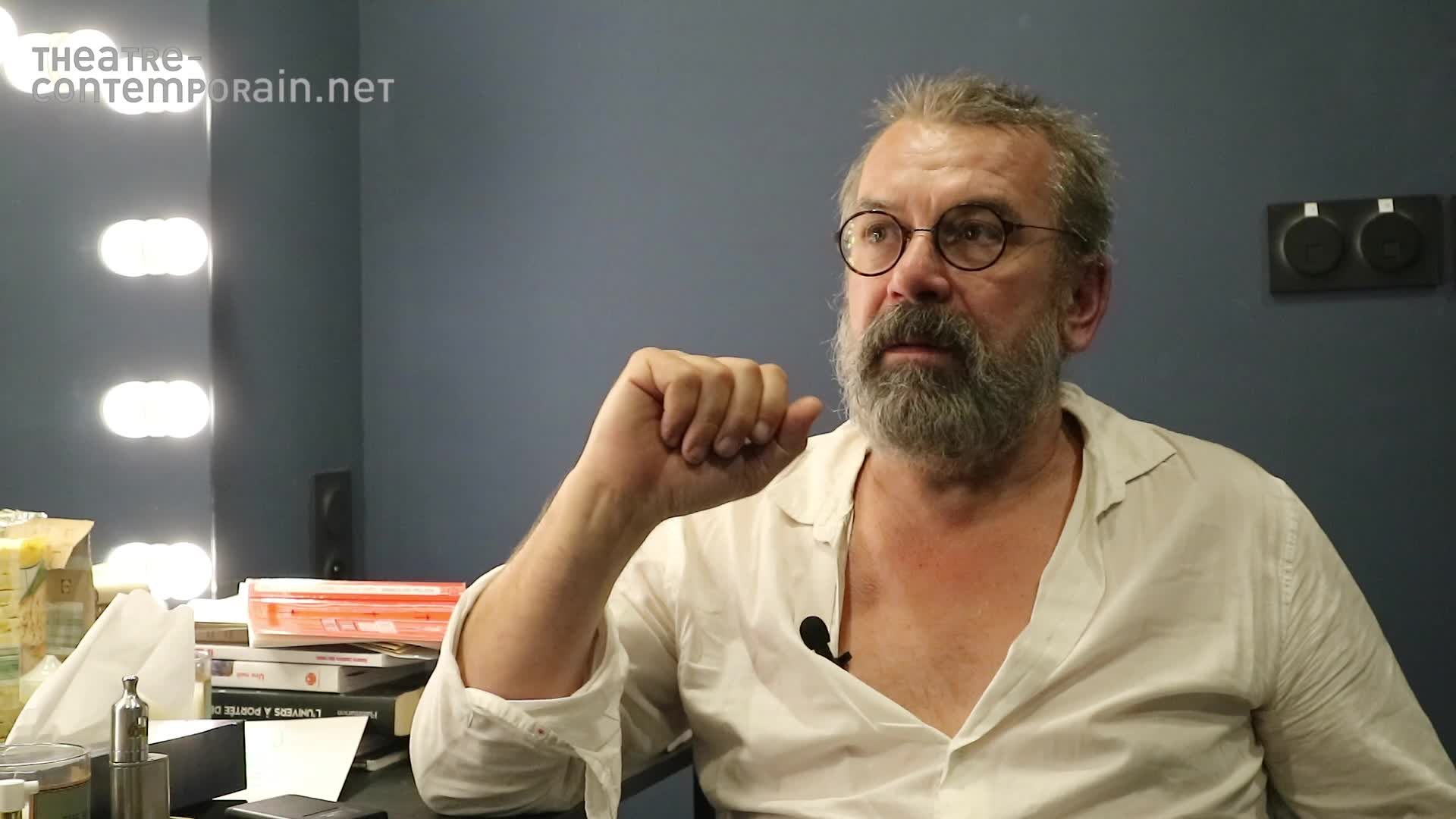 """Vidéo Les souvenirs de Philippe Torreton de la mise en scène de """"Galilée"""" par Vitez"""