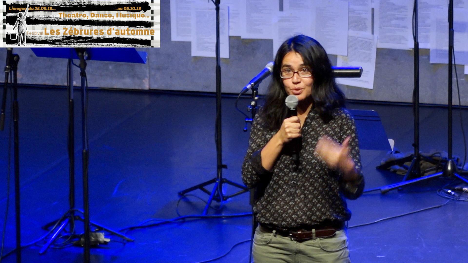 Image de la vidéo Prix Sony Labou Tansi des lycéens 2019, Marine Bachelot Nguyen pour