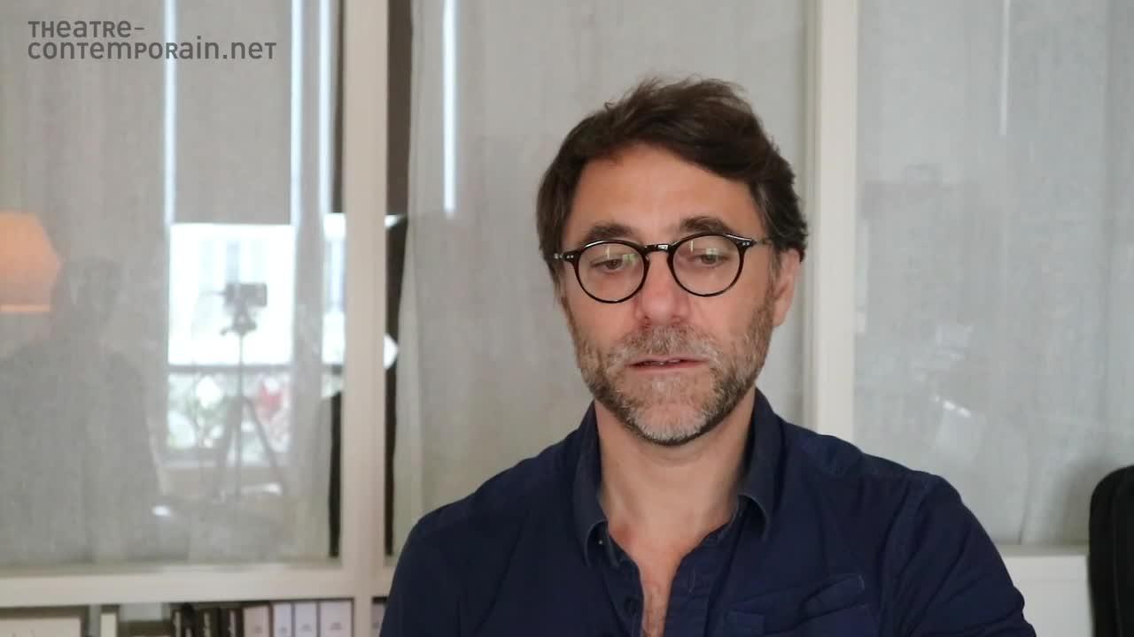 """Vidéo """"J'ai un nouveau projet"""",  présentation de la mise en scène par G. Pisani"""