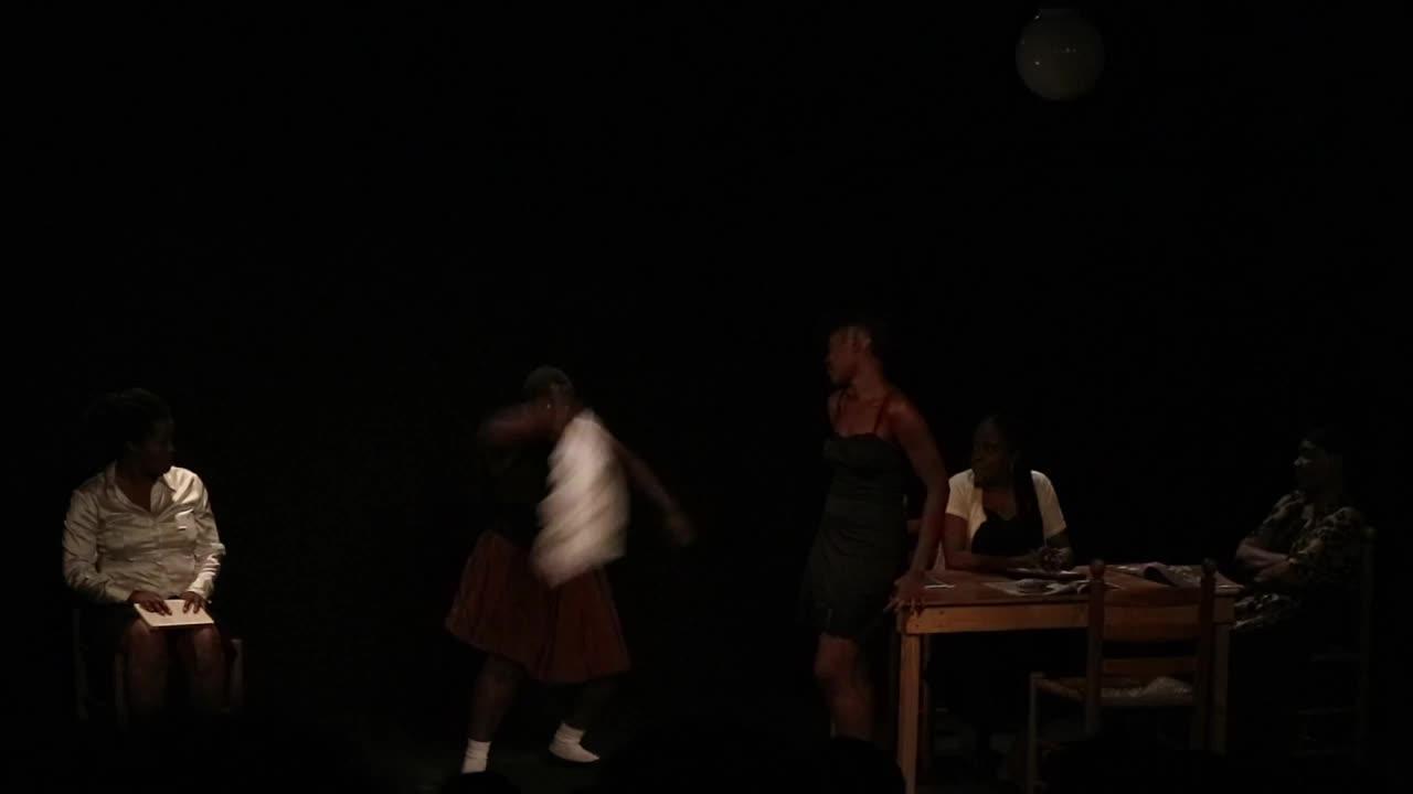 """Vidéo (3/5) """"J'étais dans ma maison..."""" le bal, extraits, N. Périclès, F. Berreur"""
