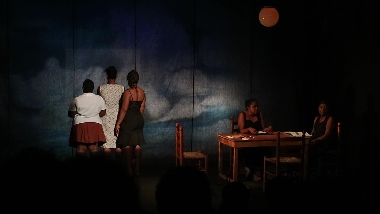 """Vidéo (5/5) """"J'étais dans ma maison..."""" scènes finales, extraits, N. Périclès, F. Berreur"""