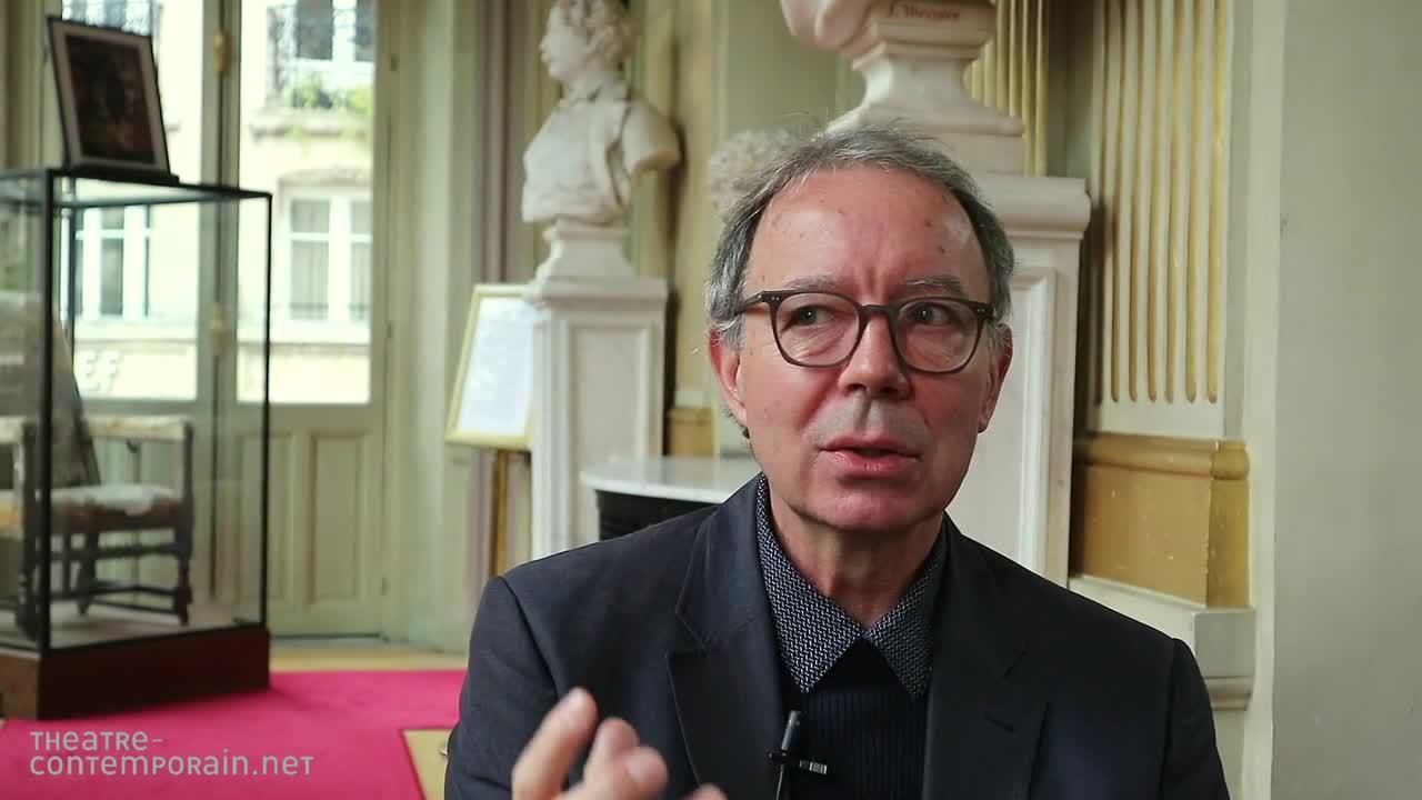 Image de la vidéo La musicalité de la langue en traduction par Eloi Recoing,