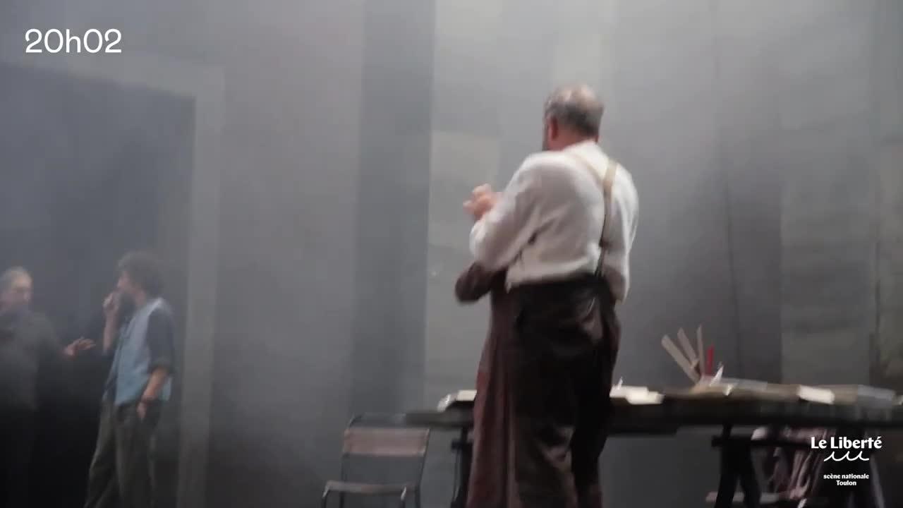 """Vidéo Vues des coulisses, """"La vie de Galilée"""", Brecht, Stavisky"""
