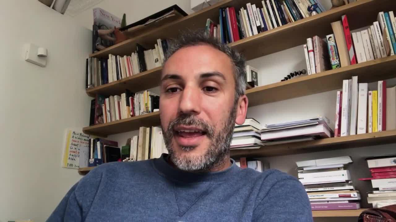 """Vidéo """"La Dispute"""", par Mohamed El Khatib, lors de la présentation de saison du TNB"""