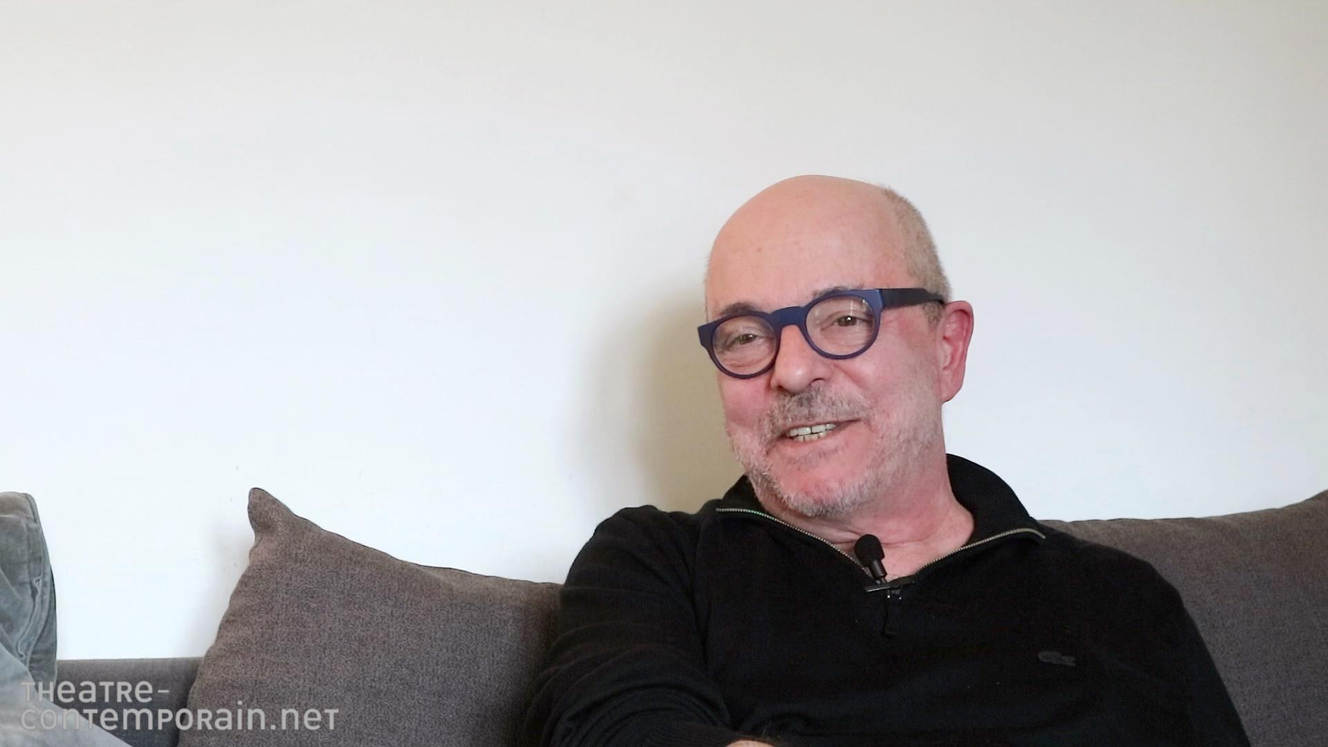 Image de la vidéo Enzo Cormann / L'écriture au jour le jour