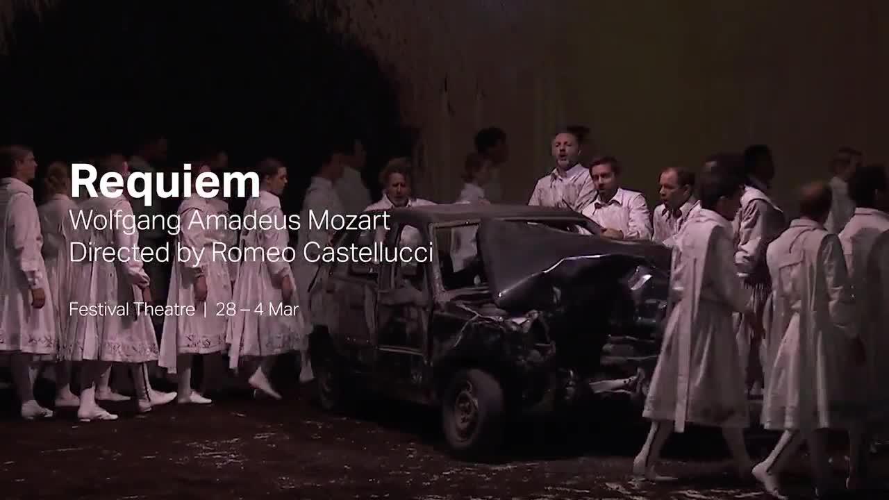 """Vidéo """"Requiem"""", Moart, Pichon, Castellucci, teaser"""