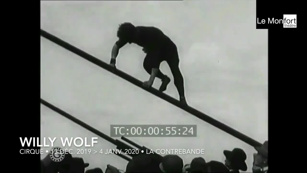 """Vidéo """"Willy wolf"""", La Contrebande, teaser 1"""