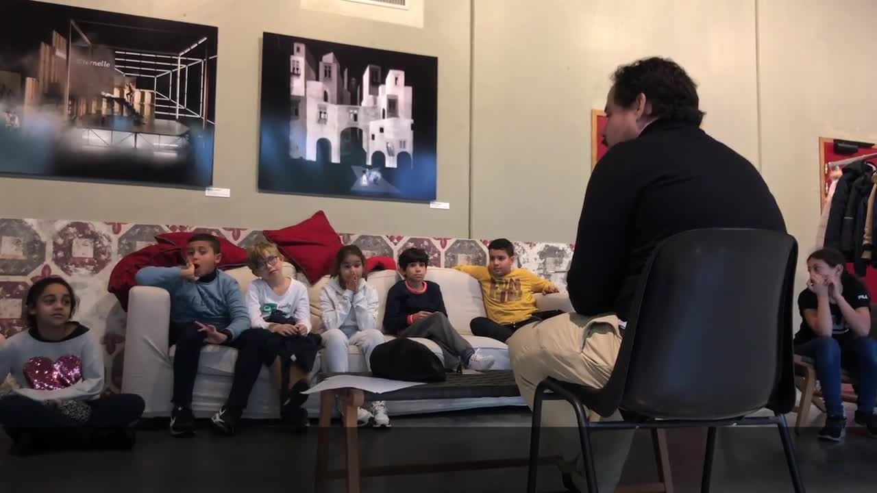 Vidéo Education artistique et culturelle autour de L'Amour vainqueur