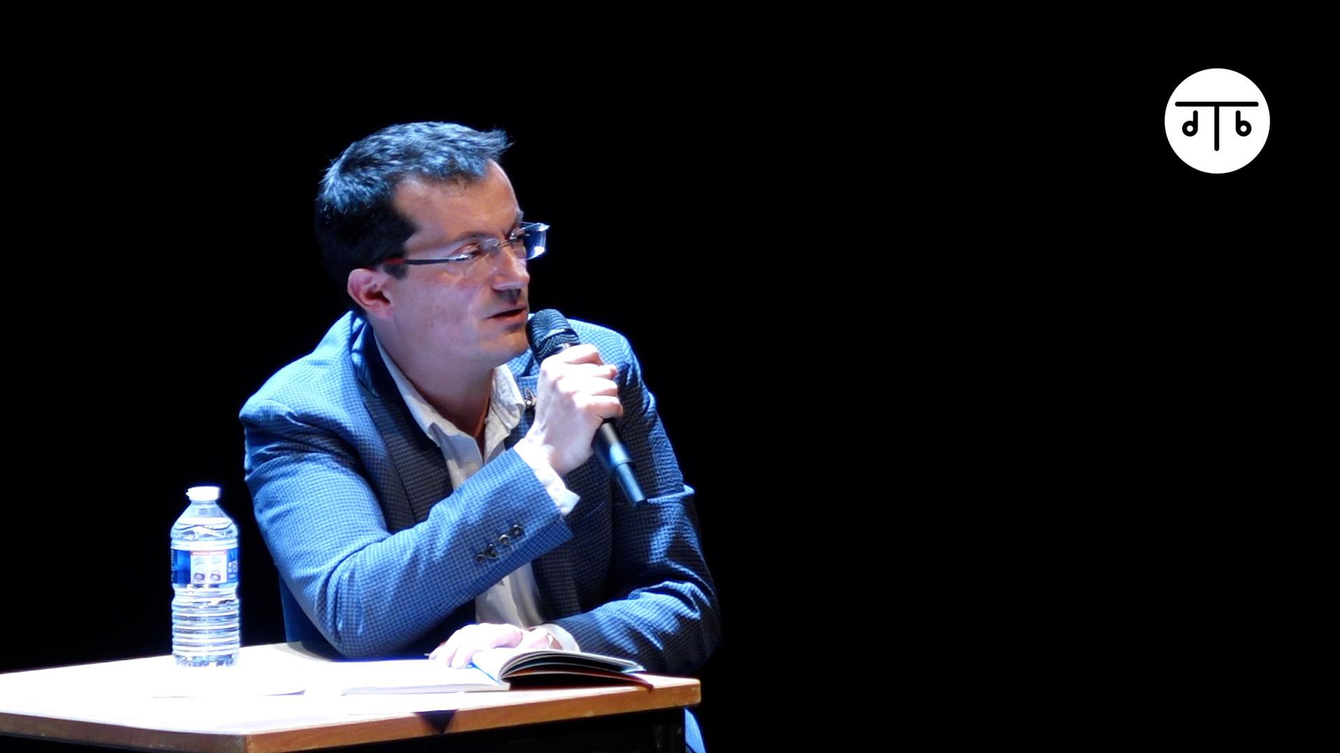 """Vidéo """"Sous d'autres cieux"""", m.e.s. Maëlle Poésy, présentation par Benoît Lambert"""