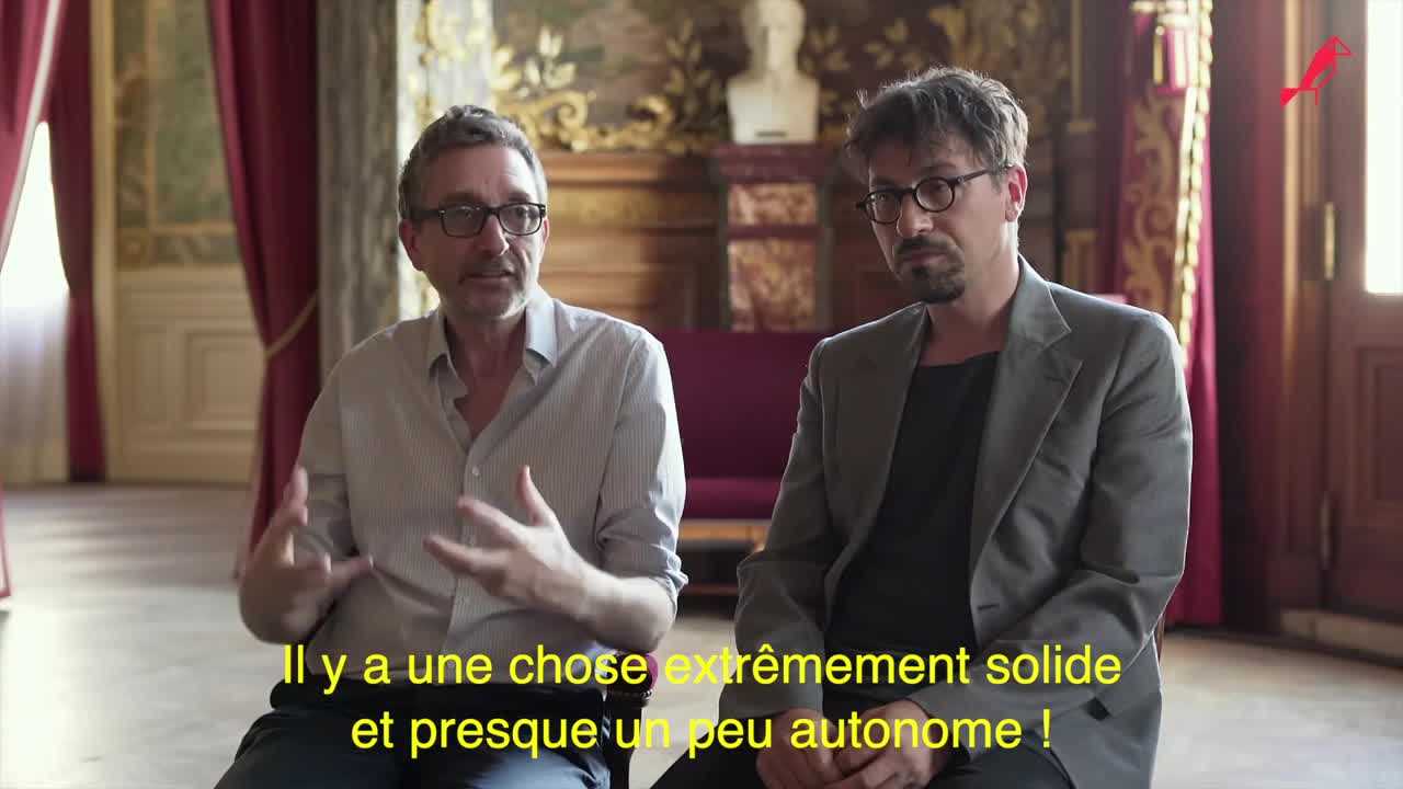 """Vidéo """"L'Inondation"""", entretien avec Joël Pommerat et Francesco Filidei"""