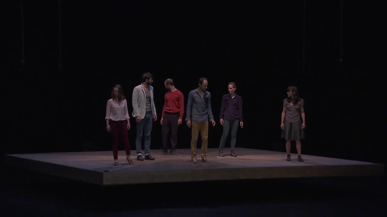 "Vidéo ""Celui qui tombe"" - Yoann Bourgeois, extrait 1"