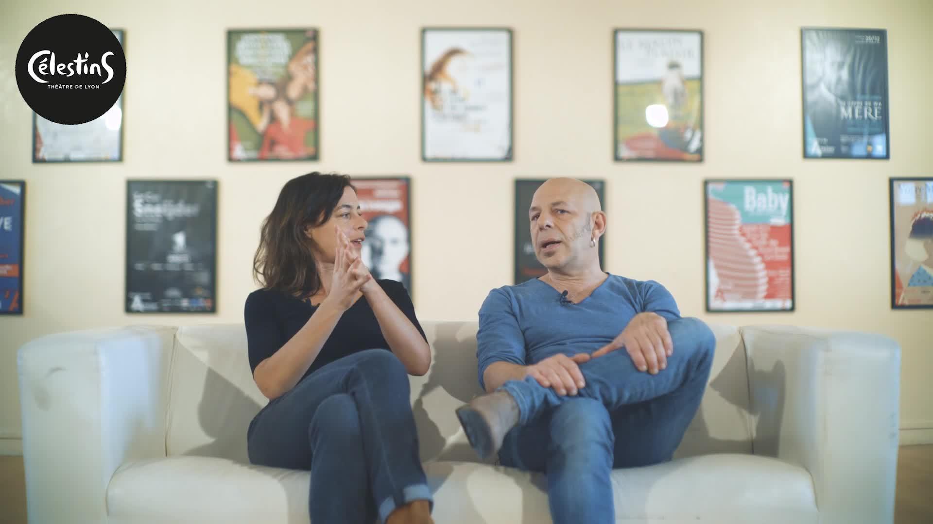 """Vidéo """"La Mouche"""", Valérie Lesort, Christian Hecq, présentation"""
