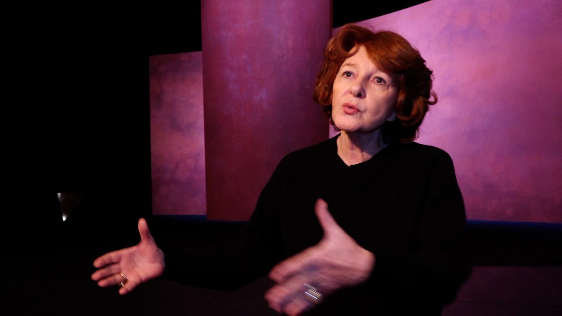 """Vidéo """"Phèdre"""" / Brigitte Jaques-Wajeman, l'exigence dans la diction des vers"""