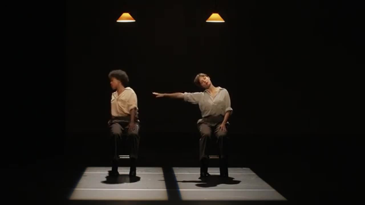 "Vidéo ""Fase, four movements to the music of Steve Reich..."", Anne Teresa De Keersmaeker / Steve Reich, teaser"