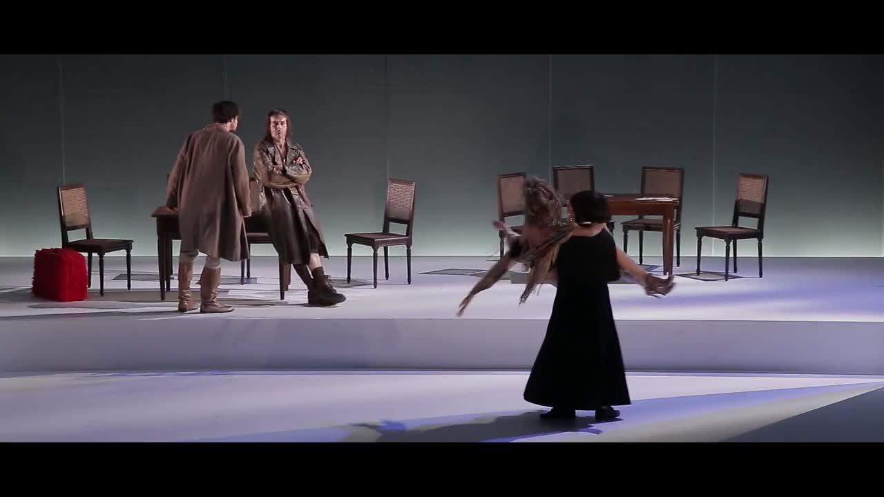 """Vidéo """"Candide"""", Voltaire, Arnaud Meunier, teaser"""