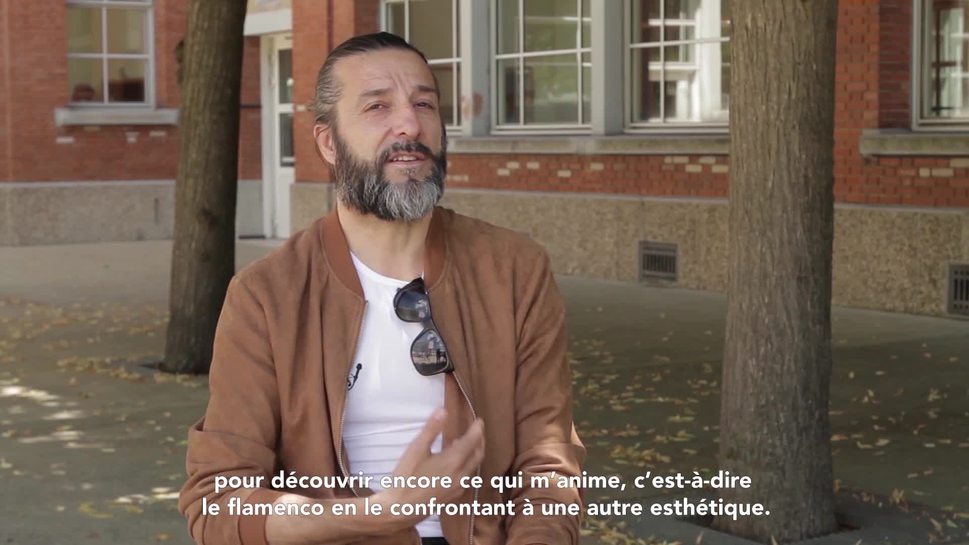 """Vidéo """"Magma"""" - Entretien avec Andrés Marín"""
