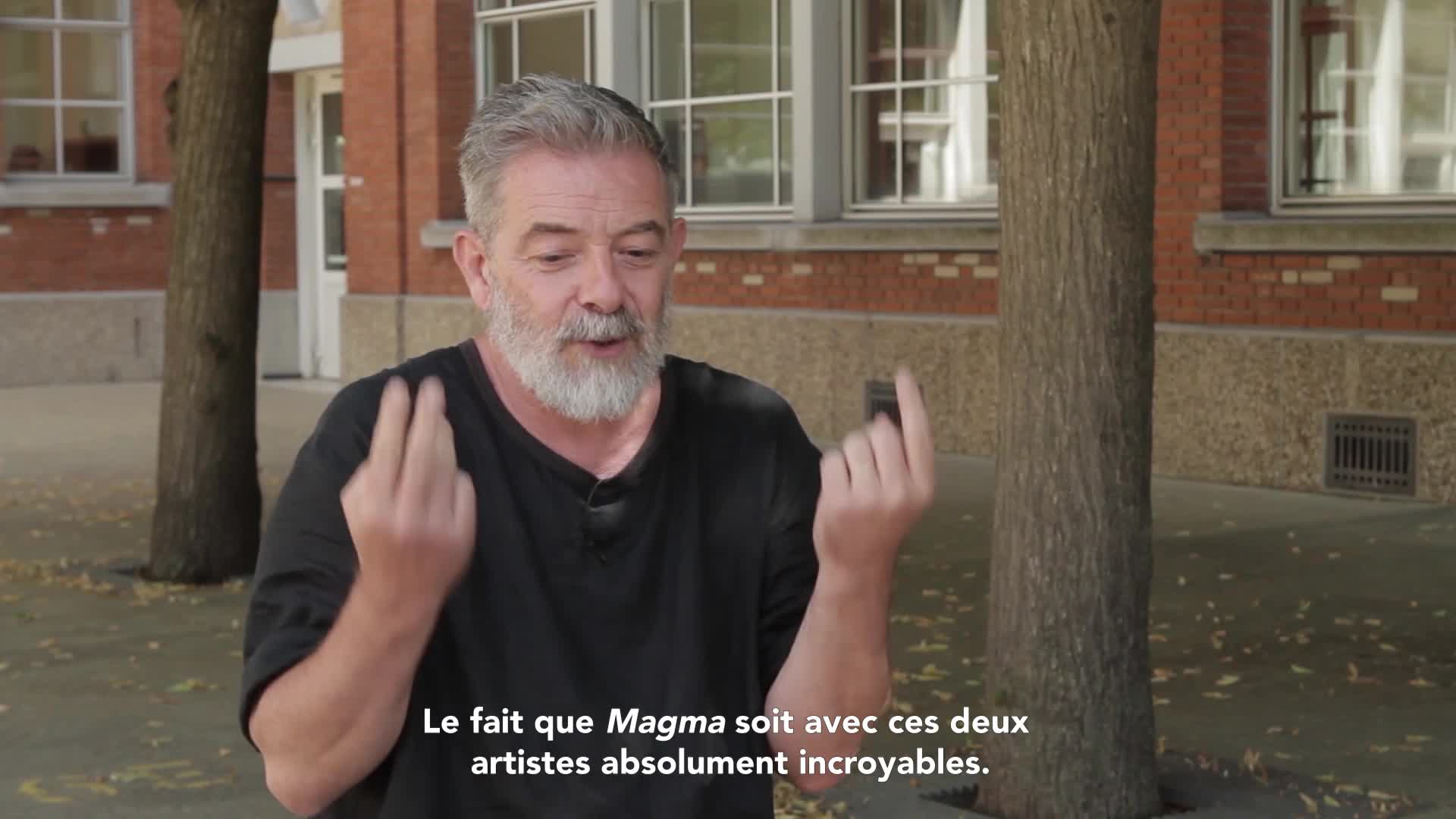 "Vidéo ""Magma"" - Entretien avec Christian Rizzo"