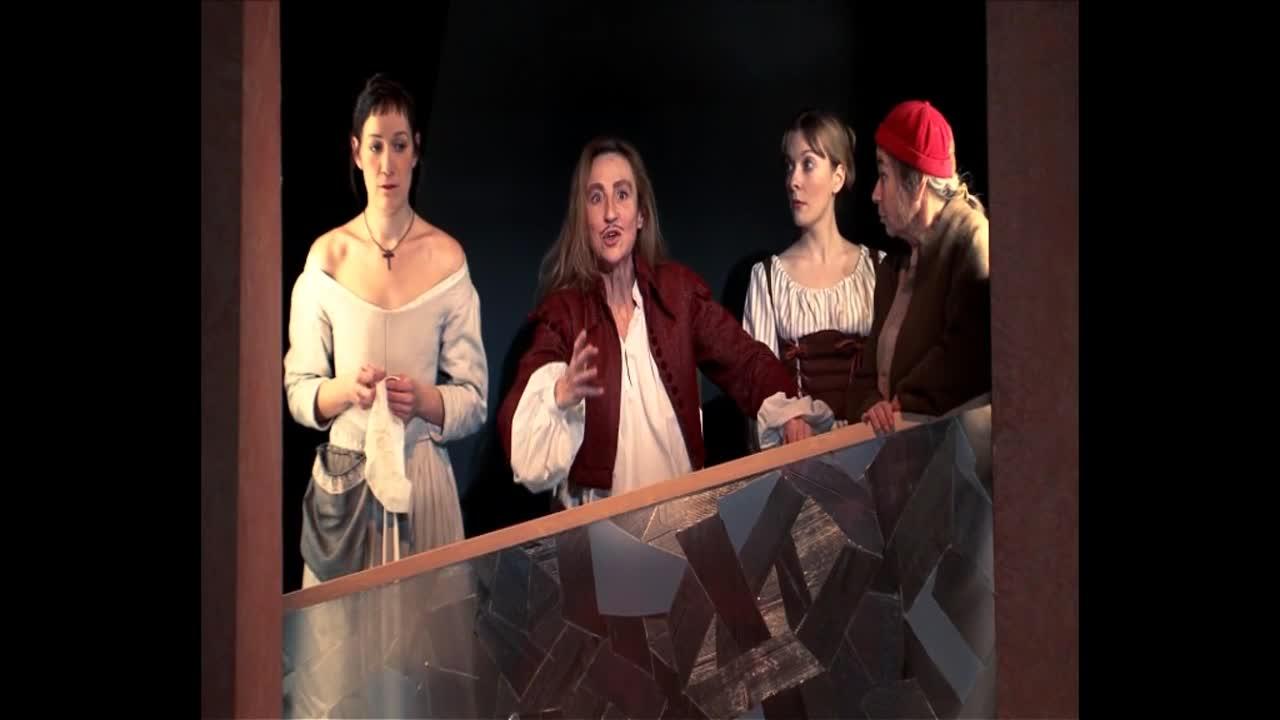 """Vidéo """"L'Ecole des femmes"""", Molière, Catherine Anne (captation intégrale)"""